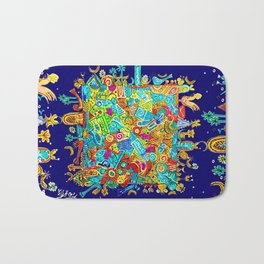 BLUE CITY Bath Mat