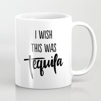 tequila Mugs featuring Tequila by PINE+PALM