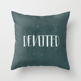 Devoted Themselves Throw Pillow