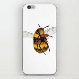 Bee tries Violin iPhone Skin