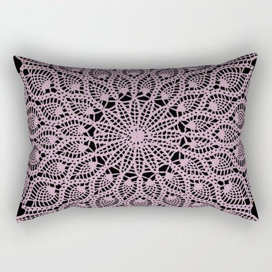 Delicate Pink Rectangular Pillow