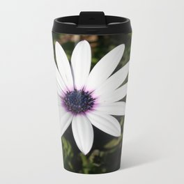 White African Daisy Travel Mug