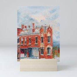 First Snow Mini Art Print