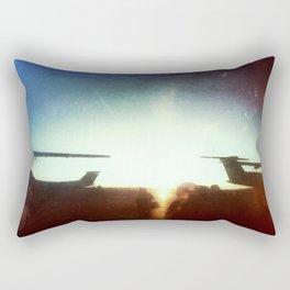 Sea-Tac At Sunset Rectangular Pillow