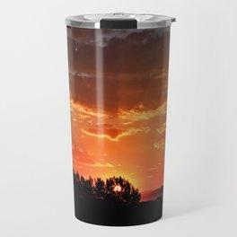 Idaho Sunset Travel Mug