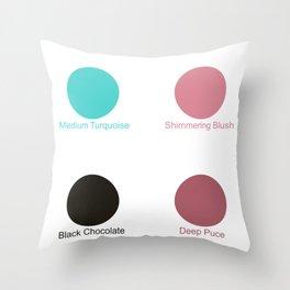Voriconazole Throw Pillow