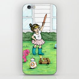 A Girl And Her Army iPhone Skin
