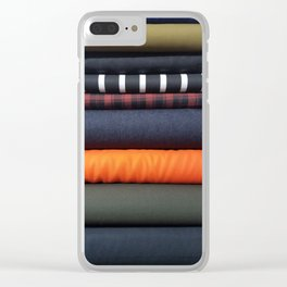 Bolt-Roller Coaster Clear iPhone Case