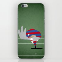 rugby iPhone & iPod Skins featuring Rugby by Osvaldo Casanova