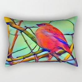 Real Angry Birds Rectangular Pillow