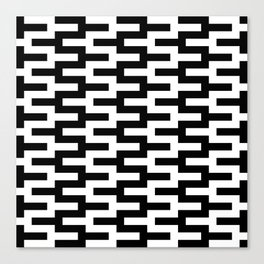 Geometric Pattern #89 (zigzag) Canvas Print