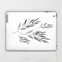 Eucalyptus Branches II Black And White Laptop & iPad Skin