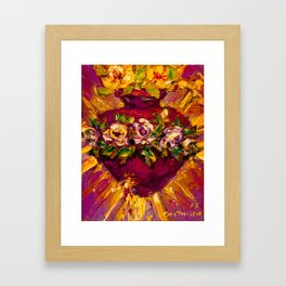 Sacred love II Framed Art Print