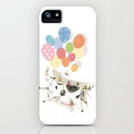 Balloooons iPhone Case