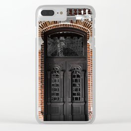 Thru The Doors Of Time II Clear iPhone Case