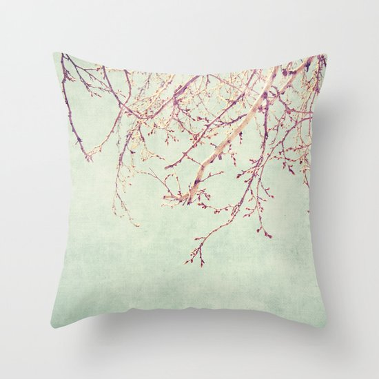 Chinese Spring Throw Pillow