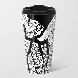 hidden is the heart, it is but a vessel Travel Mug