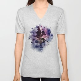 Galaxy fairy Unisex V-Neck