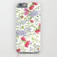 Flowering Meadow - Watercolor iPhone 6s Slim Case