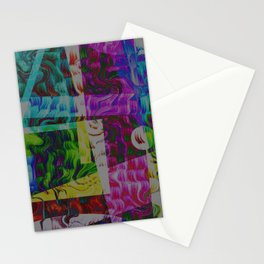 Confusion (Does Not Compute) Stationery Cards