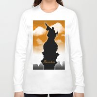 barcelona Long Sleeve T-shirts featuring Barcelona  by WIGEGA