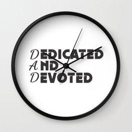 DAD Wall Clock