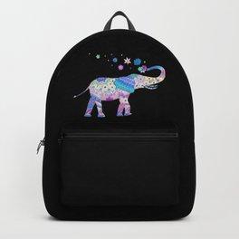 Henna Mandala Luck Elephant Backpack