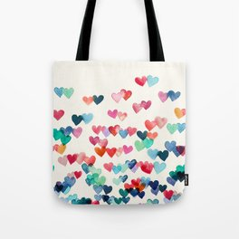 Heart Connections - watercolor painting Tote Bag