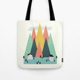 The High Mountains Tote Bag