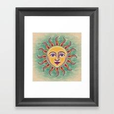 Soleil 2 Framed Art Print
