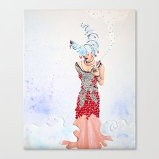 Silvermoon Canvas Print