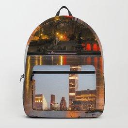 Central Park Frozen Pond 3 Backpack