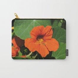 Nasturtium Carry-All Pouch