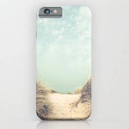 Light Leaks / The Way To The Beach iPhone Case
