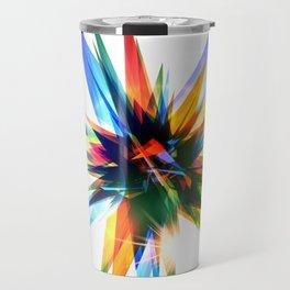 Colorful abstract star Travel Mug