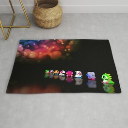 Bubble Bobble - Pixel art Rug