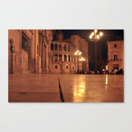REAL BASILICA in VALENCIA Canvas Print