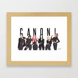 CANON! Framed Art Print
