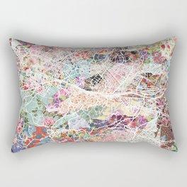 Florence map Rectangular Pillow