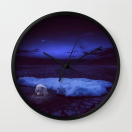 If not us, who? If not now, when? Wall Clock