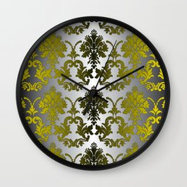 Baroque Contempo Wall Clock