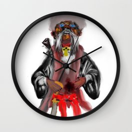 cossack zaporozhian Wall Clock