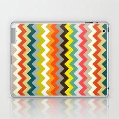 retro chevron Laptop & iPad Skin