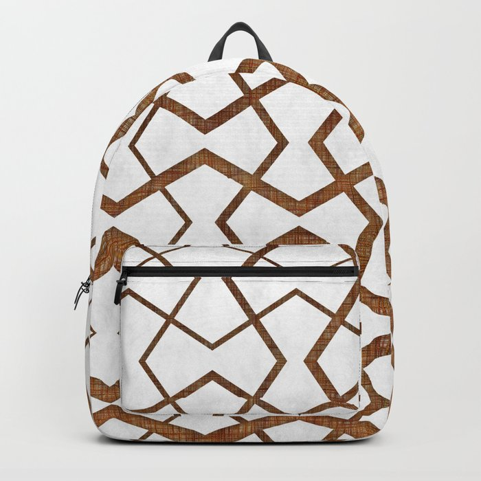 Bronze Under Marble Tiles Backpack
