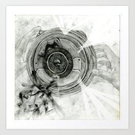 Inside My World Art Print