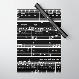 Music sheet Wrapping Paper