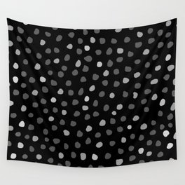 PINTO BLACK Wall Tapestry