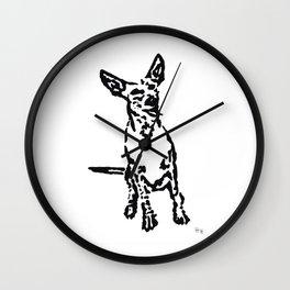 Lajka 1 Podenco Wall Clock