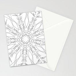 mandala art - moonrise kingdom Stationery Cards