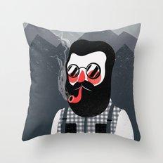 Mountaineer Throw Pillow